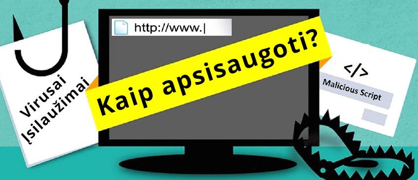 Internetinio puslapio saugumas